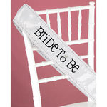 Bride-To-Be Jeweled Sash