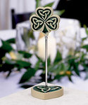 Shamrock/Trinity Love Knot Placecard Holder