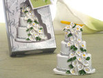 Calla Lily Theme Wedding Cake Magnetic Memo Holder