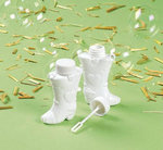 Cowboy Boot Wedding Bubbles - Pkg 24