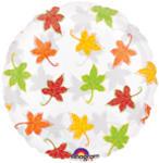 18 Leaves Falling See-Thru Balloon