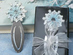 Winter Wonderland Collection Snowflake Design Bookmark
