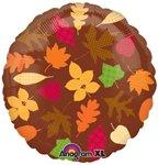 18 Autumn Leaves Mylar Balloon