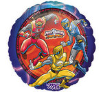 18 Inch Power Rangers Happy Birthday Balloon
