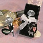 Shell Design Wine Stopper Favor