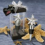 Elegant Starfish Design Bottle Stopper Favor