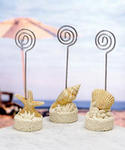 Beach Shells and Starfish Placecard Holders - Set of 12