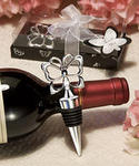Silver Butterfly Wine Bottle Stopper