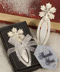Snowflake Winter Bookmark Favor