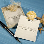 Shell Design Note Pad Favors