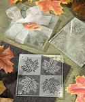 Fall Themed Maple Leaf Coaster Favors