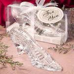 Princess Collection Glass Shoe Favors