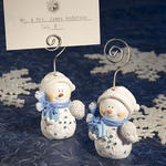 Snowman Place Card Holders