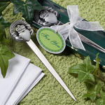 Claddagh design letter opener favors