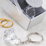 Crystal Clear Collection diamond design key chain