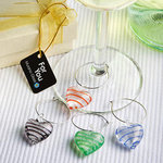 Murano Glass Collection Wine Glass Charms