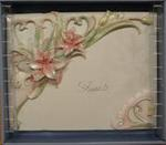 Coral / Pink Lily Guest Book
