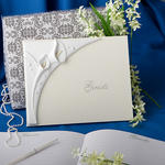Fashion Calla Lily Guest Book
