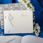 Bride and Groom Design Wedding Guest Book