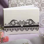 Distinctive Damask Porcelain Collection Guest Book