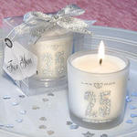 25th Anniversary Candle Favors