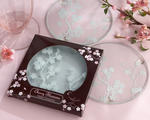 �Cherry Blossoms� Frosted Glass Coasters