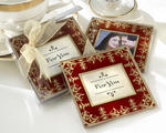 """Imperial"" Exquisite Glass Photo Coasters"