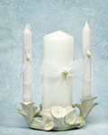 Porcelain Calla Lily Unity Candle