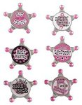Party Posse Badges - Pkg 6