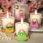 Stylish Purse Design Candle Favor
