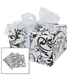 Black & White Damask Wrapping Paper