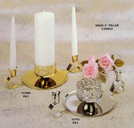 Fancy Design Unity Candleholder Set - 2 Colors