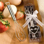 Heart Design Wire Whisk Favor