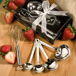 Measuring Spoon and Whisk Favor Set