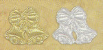 GOLD or SILVER Satin Bells - Pkg 144