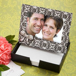 Damask Place Card/Photo Frame and Memo Paper Set