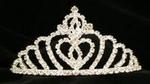 Royal Hearts Rhinestone Tiara
