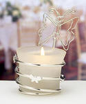 Butterfly Candle or Placecard Holder