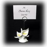 Casual Calla Lily Resin Placecard Holder