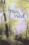 I Thee Wed Soft Trees Blank Wedding Programs - Pkg 100