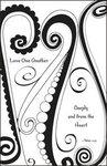 Love One Another Black & White Blank Wedding Programs - Pkg 100