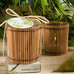 Natural Selections Collection Bamboo Wood Candle