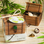 Natural Selections Collection Bamboo Trinket Box