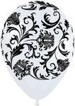 11 Damask Latex Balloon - 3 Colors!