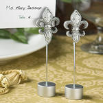 Attractive Fleur Di Lis Place Card Holder Favor