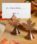 Autumn Leaf Design Placecard Holder
