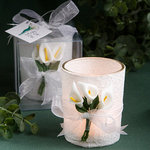 Stunning Calla Lily Design Candle Favor
