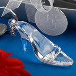 Cinderella Shoe/Glass Slipper Keychain Favor