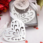 Book Lovers Collection Heart Bookmark Favor