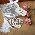 Crown Design Bookmark Favor
